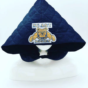 HBCU Print TRAVEL PILLOW