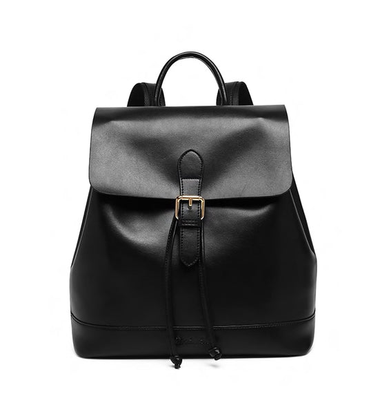 Women Genuine Leather Backpack Purse School Bags
