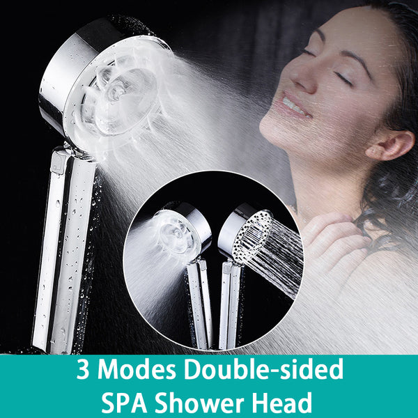 (Buy 2 Free Shipping)High Pressure Double-Sided Shower Head for Massage Spa