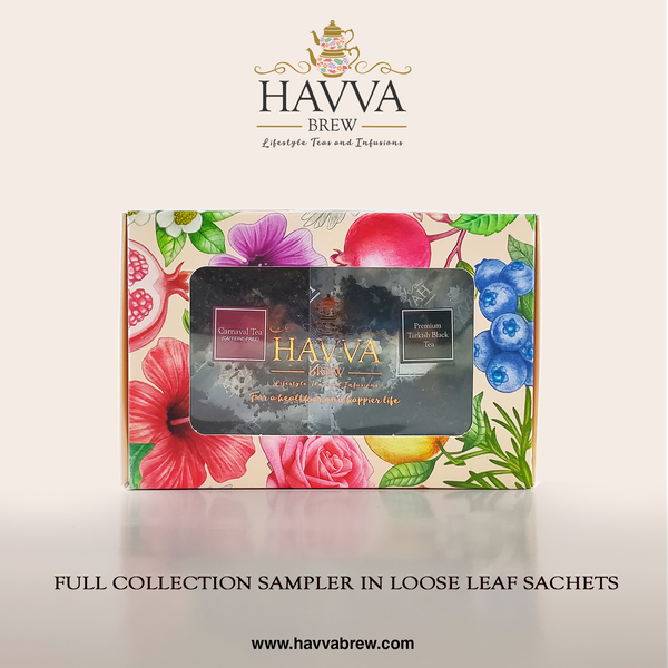 Full Collection Sampler Pack in Loose Leaf Sachets