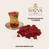 Pomegranate Flower Tea (Caffeine-Free)