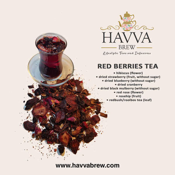 Red Berries Tea (Caffeine-Free)