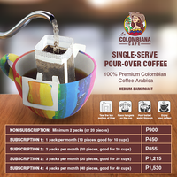 La Colombiana Cafe: Brew It Yourself Single-Serve Pour-Over