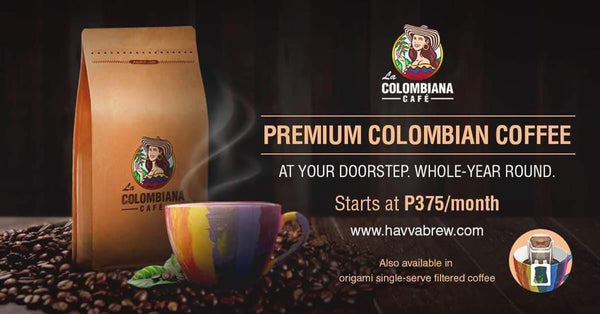 La Colombiana Cafe: Roasted Whole Beans and Ground Coffee