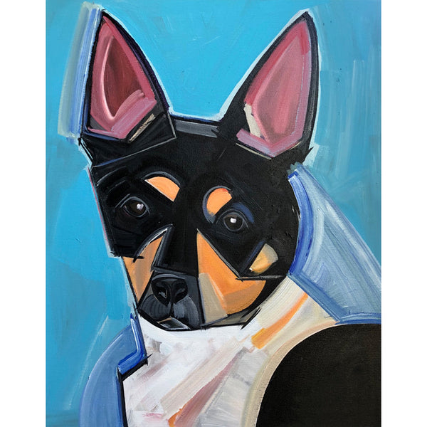 Custom Pet Portrait On Canvas