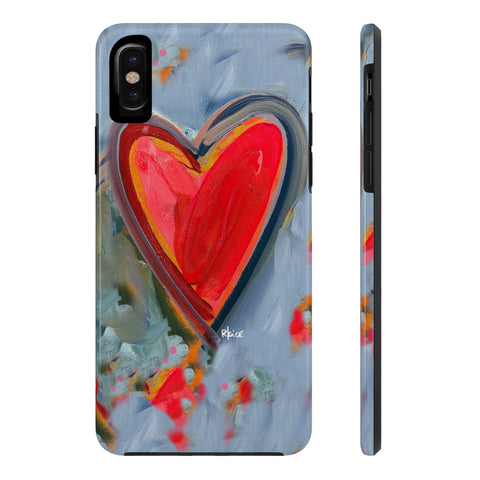Messy Heart Phone Case
