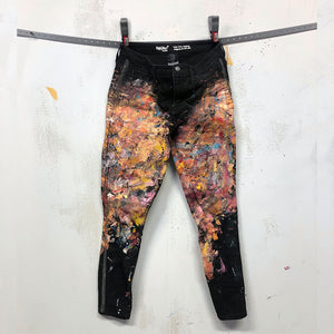 Painted Artist Pants - Mossimo