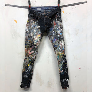 Painted Artist Pants - Zip Ankle - Gap