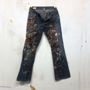 Painted Artist Pants - Abercrombie & Fitch