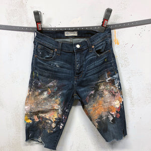 Painted Artist Pants - Madewell Cut Offs