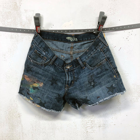 Painted Artist Pants (Short Shorts) - Old Navy