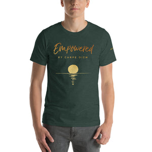 """Empowered by Carpe Diem"" T-shirt"
