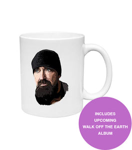 """Beard Guy"" Mug + Digital Album"