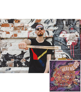 Signature Drumstick/Marquee Headband Set + Digital Album