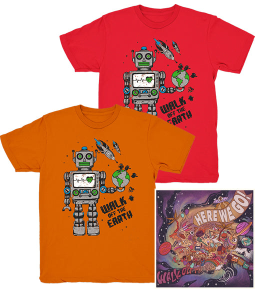Kids and Youth Robot + Digital Album