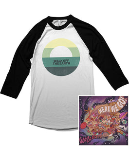 Sunset Raglan + Digital Album