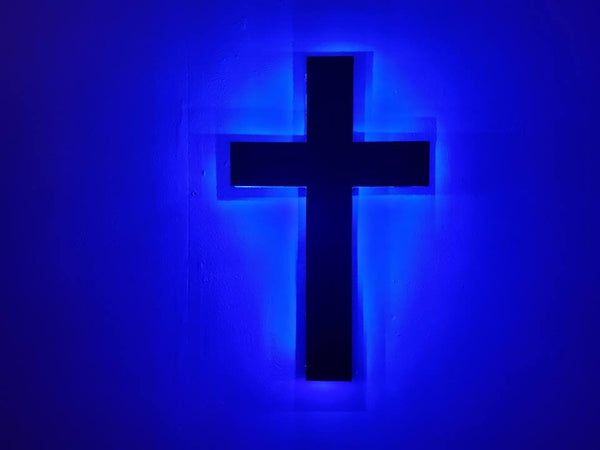 Religious Cross, Decorative cross,Church Cross decor,christening cross ,Church wall decor,faith cross,prayer cross,Cross night light