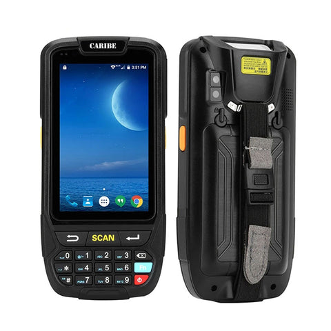 Image of Scanner de codes à barres pda PL 40L grand écran 1d bluetooth android