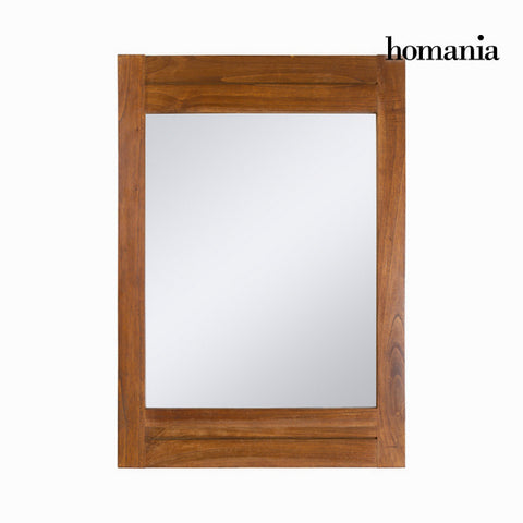 Miroir Bois mindi (100 x 70 cm) - Collection Be Yourself by Homania