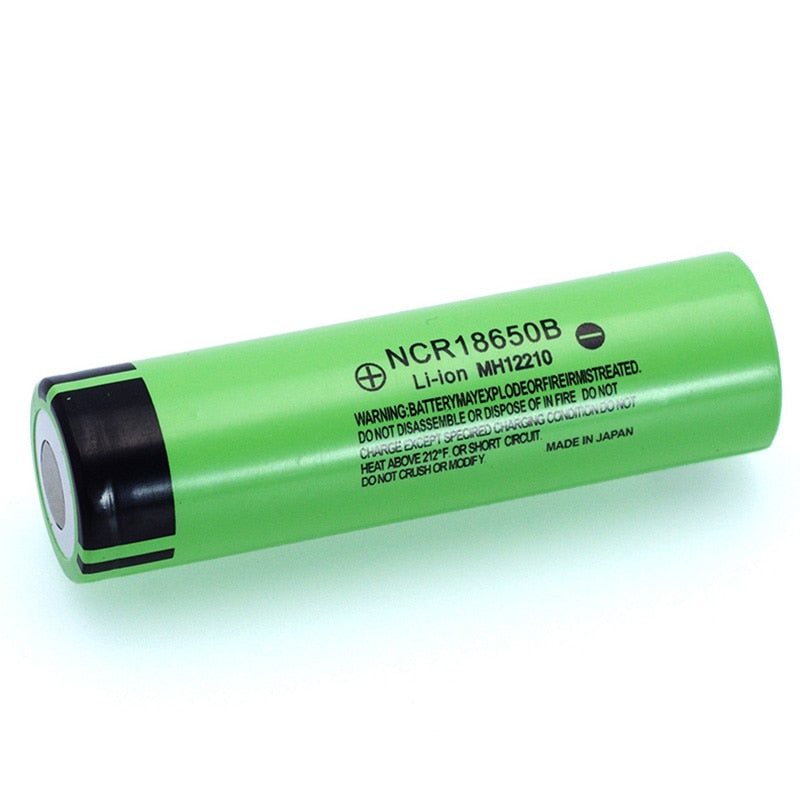 Batterie Rechargeable au Lithium originale NCR18650B 3.7 v 3400 mah 18650