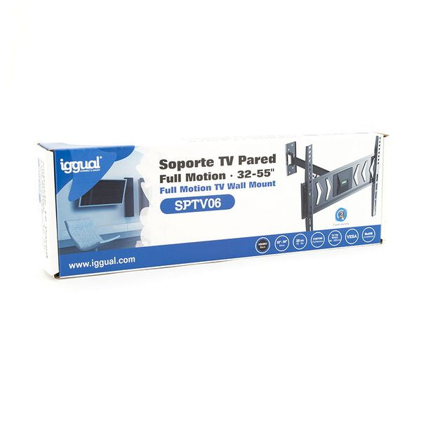 "Support de TV iggual SPTV06 IGG314623 32""-55"" Noir"