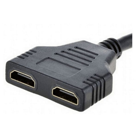 Adaptateur HDMI vers Double HDMI GEMBIRD DSP-2PH4-04 Noir