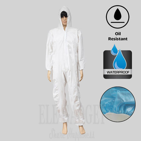 Image of Combinaison de protection jetable imperméable résistant L/XL/XXL/XXXL