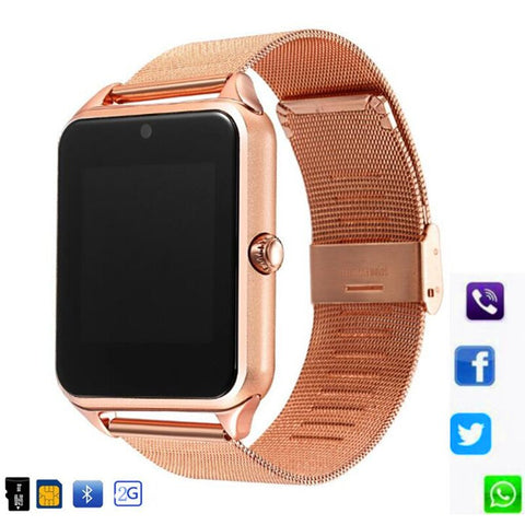 Image of Montre connectée Bluetooth - Android IOS
