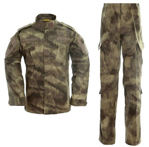 Image of Tenue de Camouflage uniforme militaire noir Multicam Tatico tactique militaire Camouflage Airsoft vêtements d'équipement de Paintball