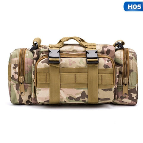Image of Sac tactique imperméable Oxford militaire