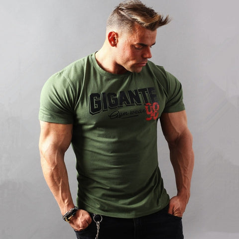 Image of T shirt gymnases Fitness mode imprimé