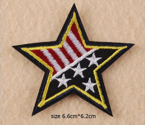 Image of Badges armée épaule conception broderie