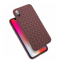 Super Soft Silikon Case in geflochtenem Stiel für iPhone 6-X in 5 Farben