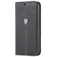 Flip Case Wallet für iPhone 6-X black