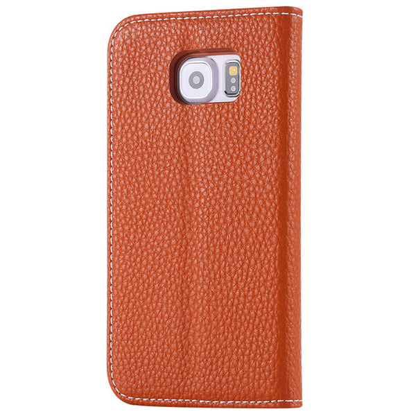 Flip Case Wallet für iPhone 6-X brown