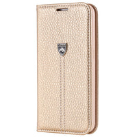 Flip Case Wallet für iPhone 6-X gold