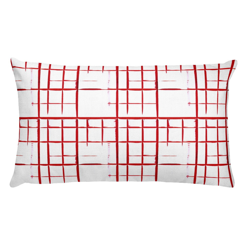 Rectangular Pillow Case w/ stuffing