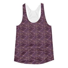 Women's Purple Shrub Raceback Tank