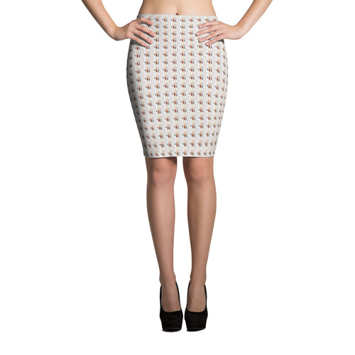 Delightfully Different Pencil Skirt