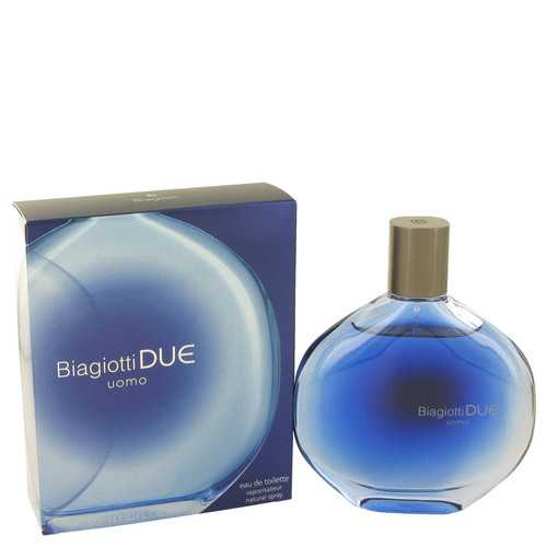 Due by Laura Biagiotti Eau De Toilette Spray 3 oz (Men)