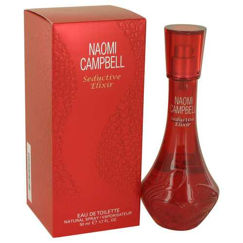 Naomi Campbell Seductive Elixir by Naomi Campbell Eau De Toilette Spray 1.7 oz (Women)