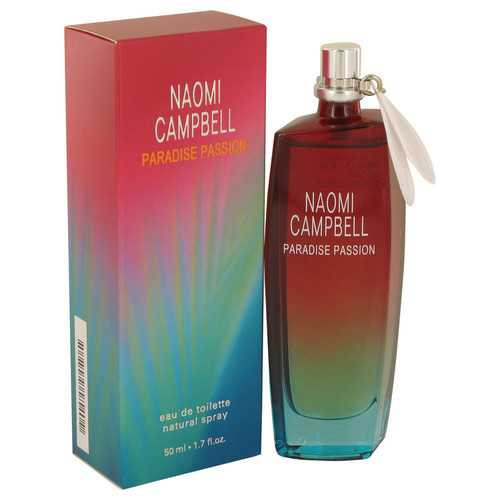 Naomi Campbell Paradise Passion by Naomi Campbell Eau De Toilette Spray 1.7 oz (Women)