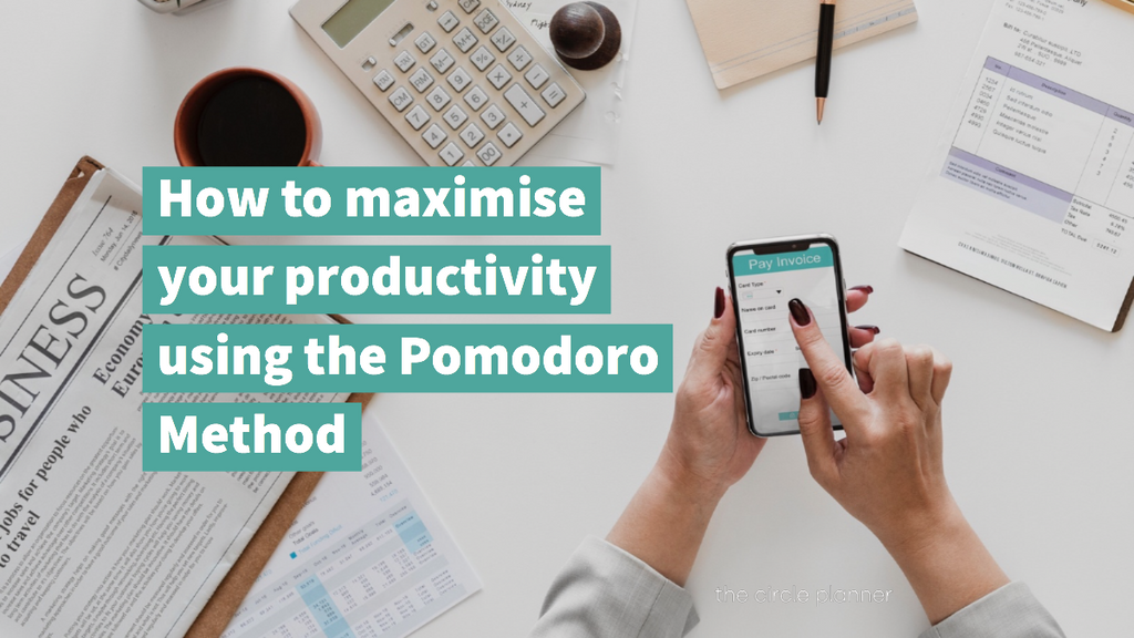How to maximise your productivity using the Pomodoro Method