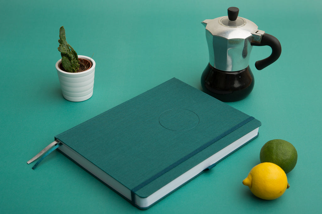 The Undated Circle Planner {Teal}