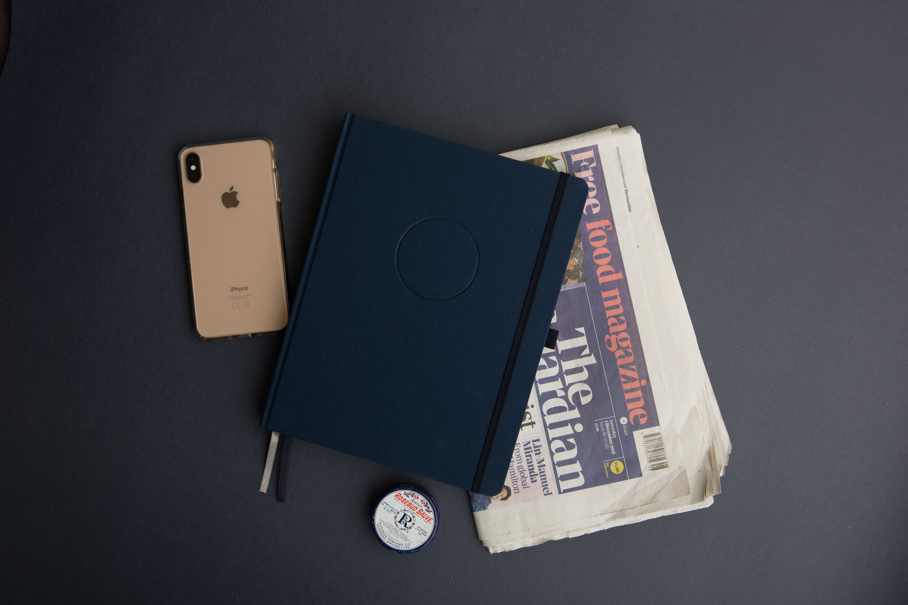 The Undated Circle Planner {Navy}
