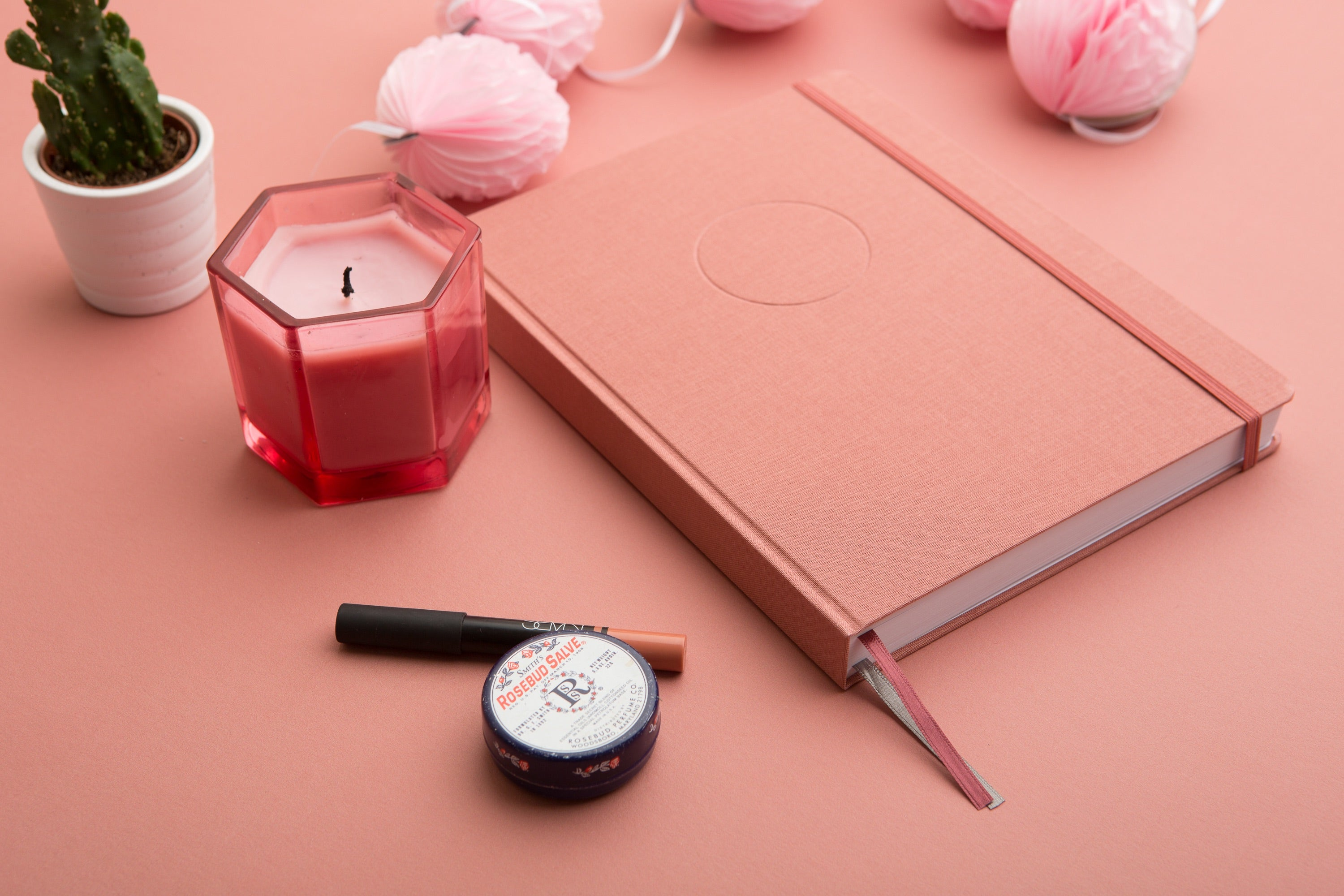 The Undated Circle Planner {Rose}