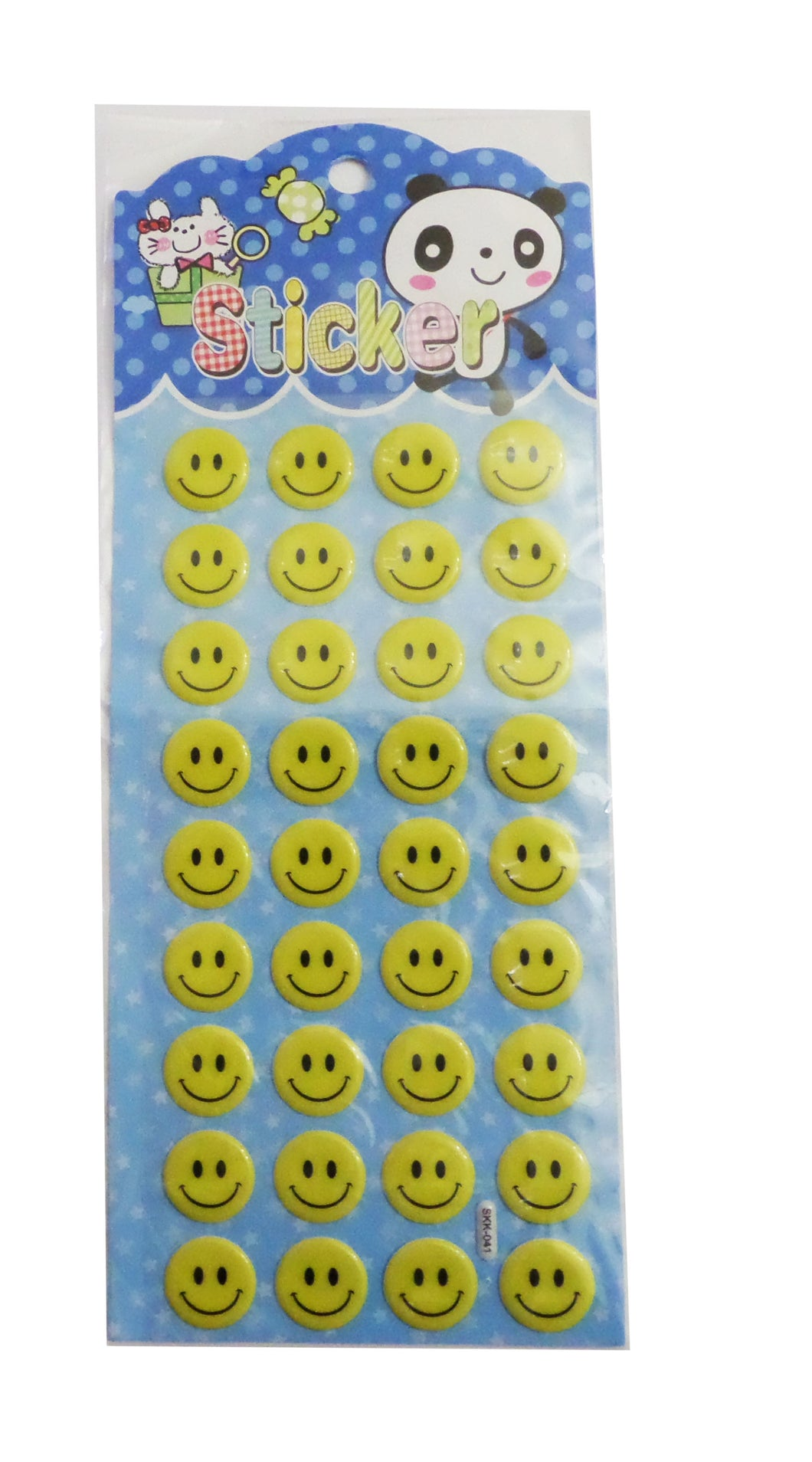 Abtibild Copii pe Carton Set Emoji Happy Smile