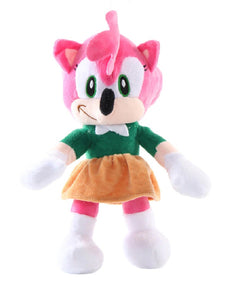 Jucarie din Plus Moale Super Sonic th Hedgehog Pink