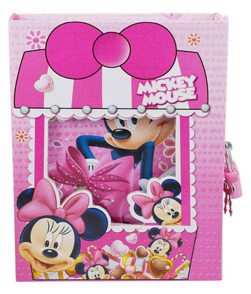 Jurnal Secret Cheita pentru Copii Minnie Mouse Treasure