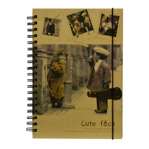 Agenda JRN-0012 Jurnal Retro Music Cute Face1